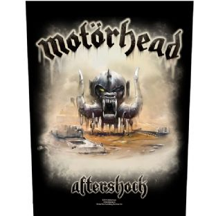 Motorhead - Aftershock - Large Sew On Patch